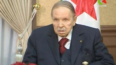 Algeria's Bouteflika to stay on as president after term ends