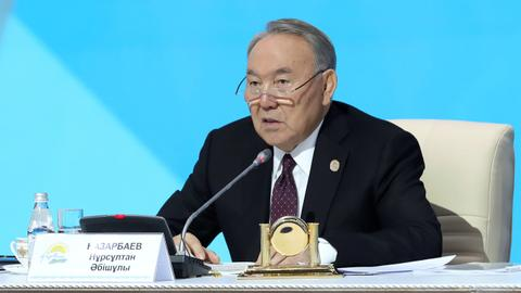 President of Kazakhstan, Nursultan Nazarbayev, resigns