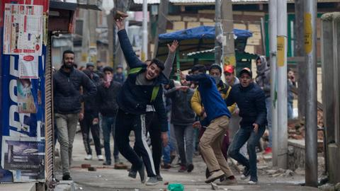 Teacher's custodial killing sparks protests in Indian-controlled Kashmir