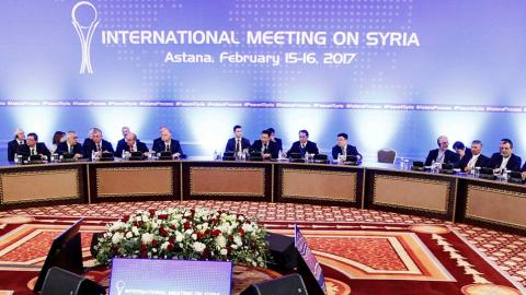 Slow progress made at Astana talks on Syria