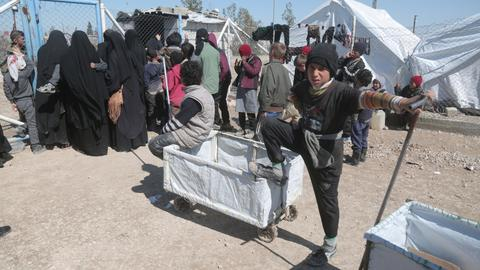 At least 12 refugees die in Syria's Al Hol camp
