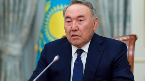 Kazakhstan's leader steps down, or is it a step up?