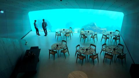 Europe's first underwater restaurant opens in Norway