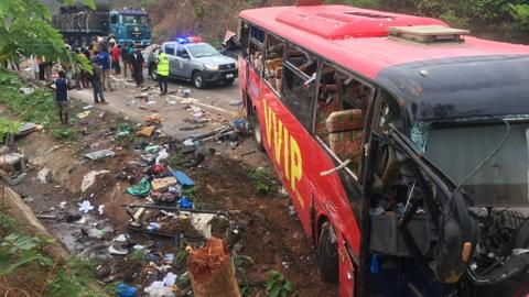 'Sleepy driver' said to have caused Ghana bus collision that killed 60