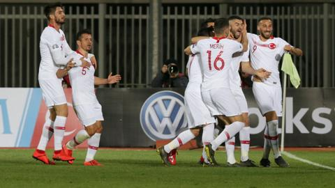 Turkey beats Albania in EURO 2020 qualifiers