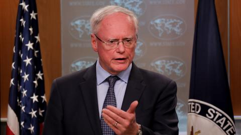 US envoy James Jeffrey visits Ankara amidst CENTCOM drama
