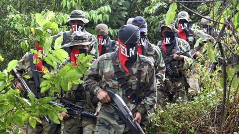 Colombia accuses ELN rebels of breaking preliminary peace deal