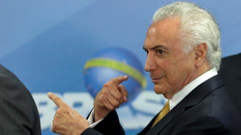 Brazil's ex-president Michel Temer freed after five days in jail