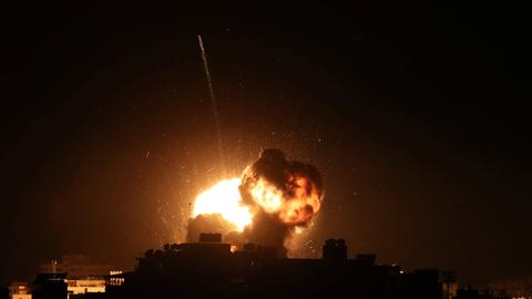 Israel targets Hamas with tank and aircraft fire in Gaza