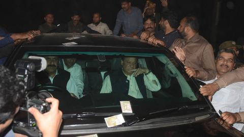 Pakistan's former PM Sharif released from jail on bail