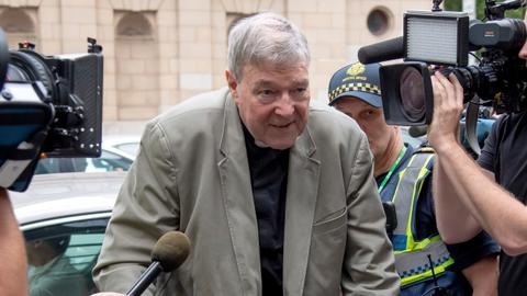 Australian media prosecuted for alleged violations of Pell gag order