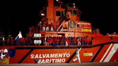 EU suspends naval patrols in Libya migrant operation