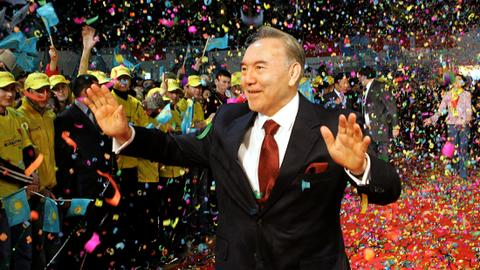 Kazakhstan power struggle emerges as longtime president steps down