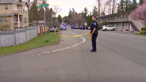 Two killed, two wounded as gunman opens fire during Seattle rush hour