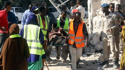Car bomb in Somalia's capital kills at least 10 people