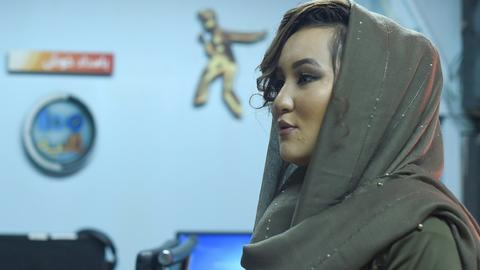 First woman to win 'Afghan Star' TV show to fight Taliban with music