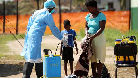 Cholera hits Mozambique's cyclone-ravaged city of Beira