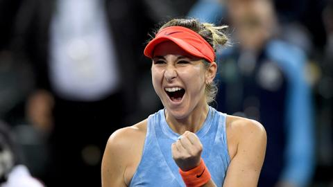 Tennis: Bencic, Ostapenko ease into second round in Charleston