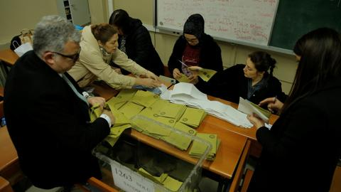 Turkey's AK Party seeks full recount of votes in Istanbul