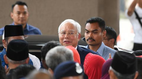 Malaysia's ex-PM Najib goes on trial for 1MDB corruption scandal