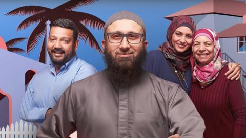 Have you been to the mosque next door?