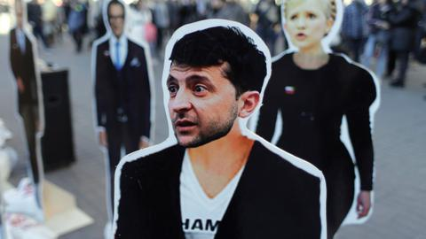 Can a comedian in Ukraine become a 'servant of the people'?