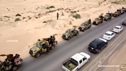 Libya's Haftar orders forces to march to Tripoli