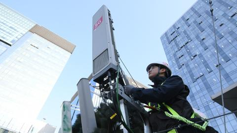 South Korea launches first national 5G networks