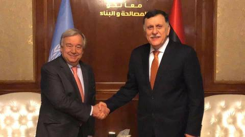 Why the UN can't afford to abandon Sarraj's government in Libya
