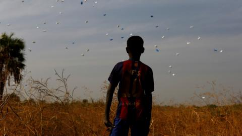 How severe is the famine in South Sudan?