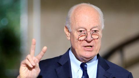 UN envoy to Syria sees no breakthrough in talks