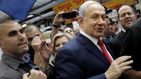 Netanyahu, Gantz make final pledges before Israel election