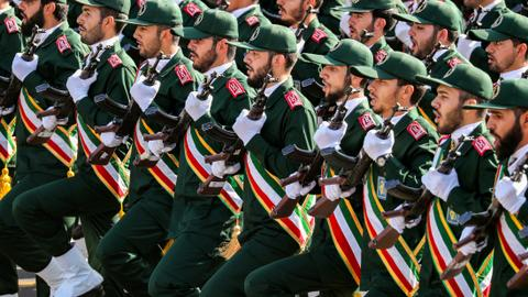 US declares Iran's Guard a 'terrorist' group