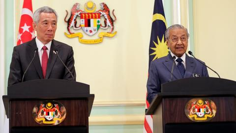 Malaysia's Mahathir says anti-fake news laws could be abused