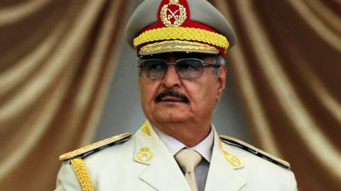 'Too strong to fail, too weak to control': How Haftar got his support
