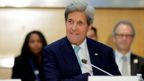 Kerry calls on Russia to press Assad to stop violating ceasefire