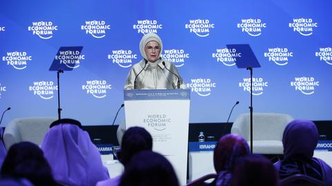 Green economy possible - Turkey's first lady