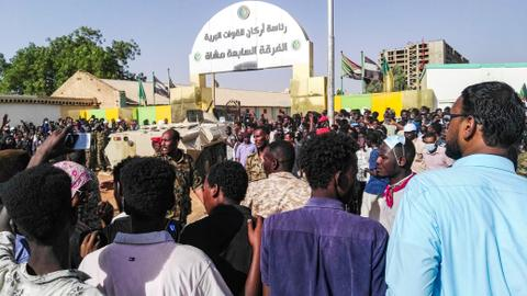 Sudan opposition says around 20 killed since start of sit-in