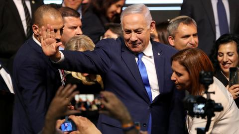 Israel's Netanyahu secures election victory - Israeli media