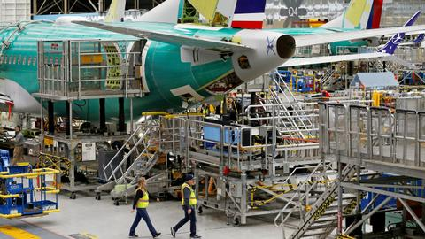 Boeing records zero new MAX orders after global groundings
