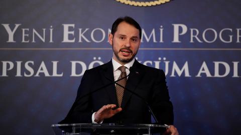 Ankara slams Moody's downgrade move