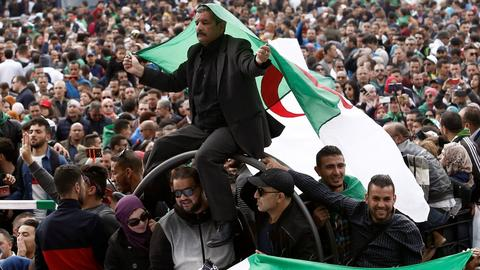 Algeria sets July 4 presidential election after mass protests