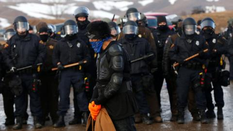 Dakota Access pipeline protest close to ending