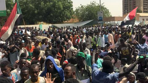 Sudan's new military rulers offer dialogue as protests rage