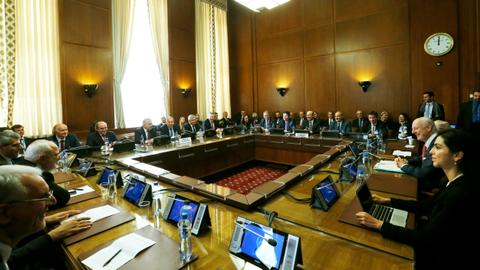 Breakthrough reached on negotiating Syria's new constitution
