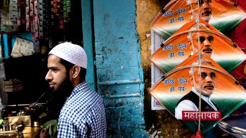 Marginalised Indian Muslims rally around 'secular' parties