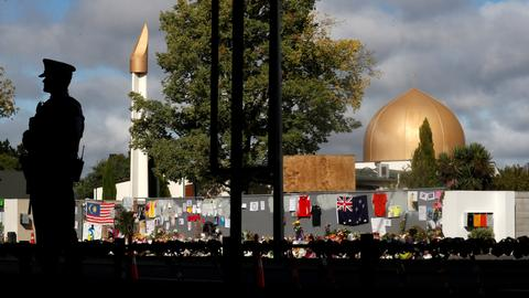 Worshippers avoid Christchurch mosques month after attacks