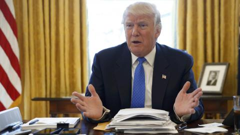 Trump vows to take US to top of nuclear pack