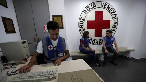 International Red Cross says stepping up aid to Venezuela