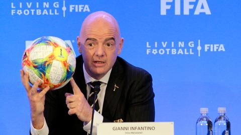 FIFA head wants refs to end football games if racism persists